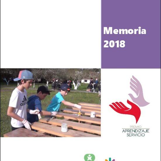 Memoria de los Premios Aprendizaje-Servicio 2018